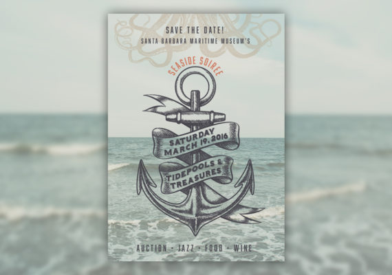 Santa Barbara Maritime Museum Invitation