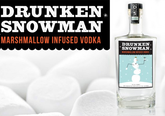 Drunken Snowman Vodka