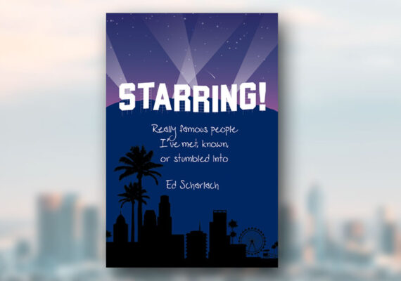 STARRING! [book cover illustration and design]